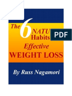 The 6 Natural Habits for Effective Weight Loss