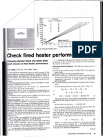Check Fired Heater Performance Calculation
