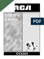 RCA CC6263 Manual