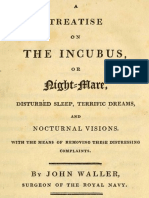 A Treatise on the Incubus, or Night-Mare, Disturbed Sleep, Terrific Dreams and