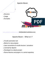 An introduction to Apache Maven