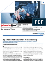Big Data Meets Measurement in Manufacturing