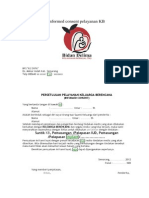 Contoh Format Informed Consent Pelayanan KB