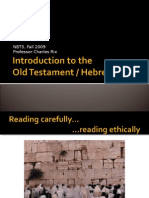 Introduction to the Old Testament Presentation 1