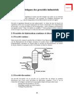 Caracteristiques Des Procedes Industriels