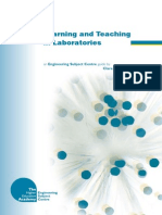Learning and Teaching in Laboratories