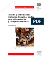 Turismo y Comunidades Indigenas