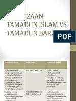 Perbezaan Tamadun Islam vs Tamadun Barat
