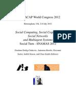 Social Computing Social Cognition Social Networks AISB2012