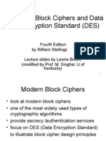 Block Cipher and DES