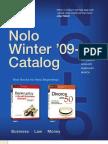 Nolo Winter 2010 Catalog
