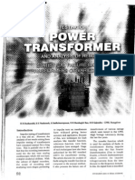 Ieema Journal for Testing of Power Transformer