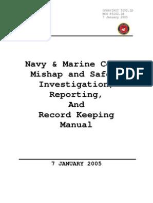 OPNAVINST 5102.1D | United States Marine Corps | United ... on