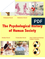 The Psychological History of Human Society