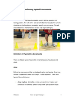3.Types of Plyometric Movements
