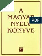 125463345 a Magyar Nyelv Konyve