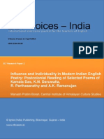 Influence and Individuality in Indian Poetry