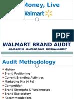 Walmart - Brand Audit