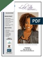 Indira Wilburn.  Media Personality | Voice Over Talent | Social Media Strategist
