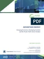 i e a 2011 Advantage Energy