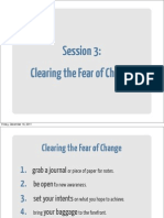 s03 Clearing the Fear of Change