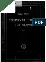 Robert Muller - Trombone etudes 1