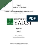 Contoh EBM, Critical Appraisal Prognosis.docx