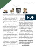 Gastroenterology Portal Hypertension and Complications