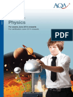 GCSE Physics Syllabus 2014(Latest)