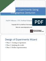 Design of Experiments Webinar