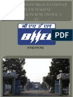 A Power Point Presentation Of BHEL