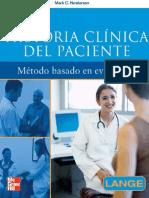 Historia Clinica Del Paciente Metodo Basado en Evidencias