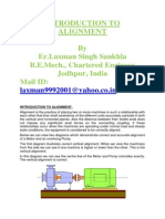 Introduction to Machine Alignment
