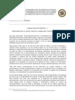 Intervención del Presidente de la Corte IDH Diego García-Sayán