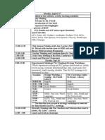 09 Teacher Agenda