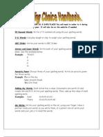 Spelling Choice Handbook