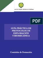 Guía Práctica Protocolos Exploración y Biomecánica
