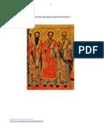 Dan Badulescu - Sfintii Trei Ierarhi Si Geocentrismul