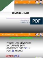 Criterios de Divisibilidad, Fracciones Etc...