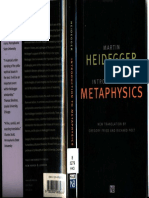 Heidegger - Introduction to Metaphysics