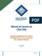 Manual Citas via Web