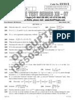 XII-07 3hr Paper