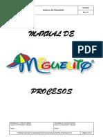 Dg-m-02-Rev07 Manual de Procesos Borrador 01