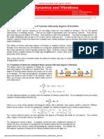 Dynamics and Vibrations_ Notes_ Multi-DOF Vibrations