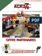Plaquette ACR276 CE