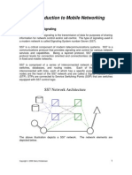 SS7 in Mobile Communication Networking