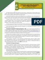 O quê do mês n 68 A internet como fonte de pesquisa para a língua portuguesa