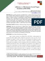 O Trabalhismo e o Movimento Social Negro  brasileiro (1943-1958) -Arilson dos Santos Gomes