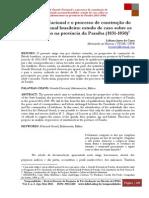 A Guarda Nacional e o processo de construção do  Estado nacional brasileiro