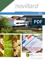 Mignovillard - Bulletin municipal 2013